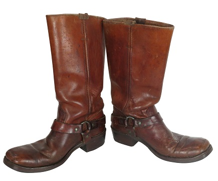 A pair of Jimi Hendrix's boots