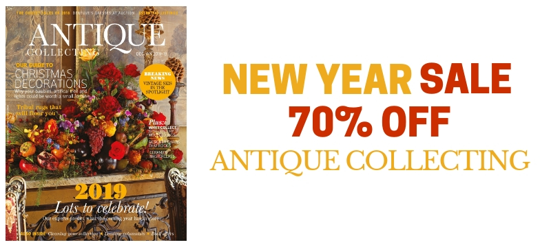Antique Collecting New Year Sale