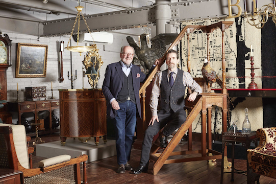 James and John Bly of Bly Antiques