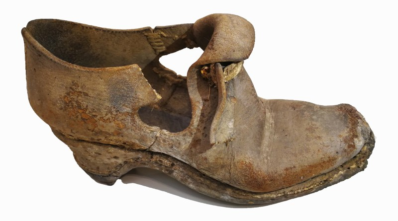 An ancient shoe