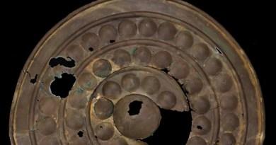 Bronze Age shield in Suffolk sale