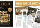 Pages from latest issue of Antique Collecting magazine
