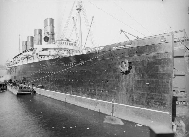 The RMS Mauretania