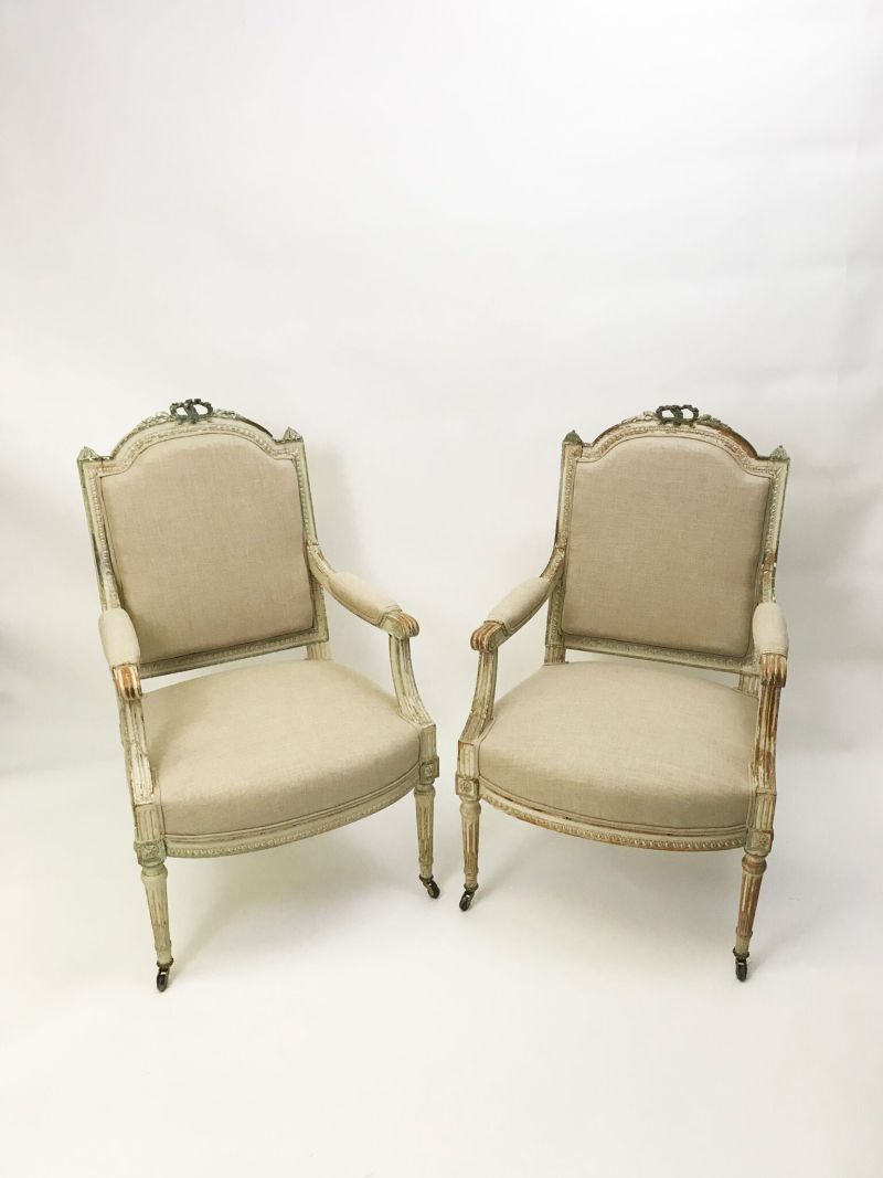 A pair of antique chairs from Mary Hossack