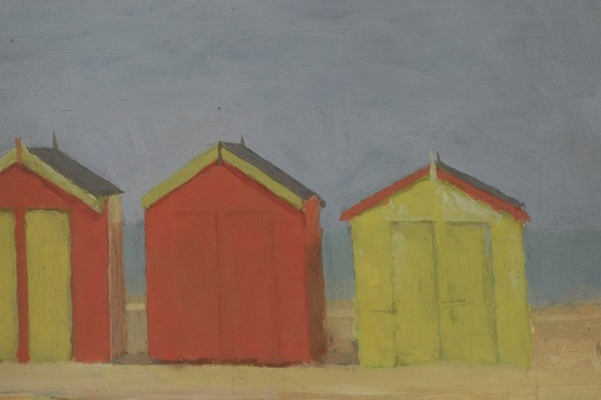 Late Suffolk artist Fred Durbery's Southwold Huts