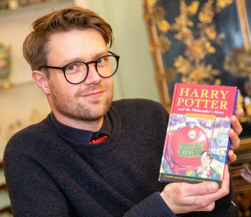 The first edition Harry Potter and the Philosopher's Stone sold for over £50,000