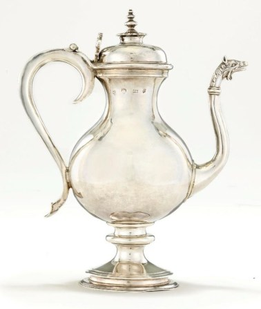 Charles I silver ewer from David Little Collection