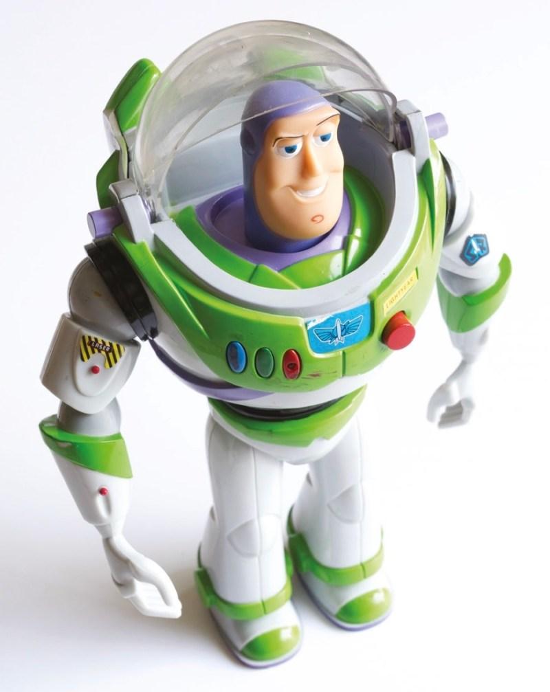 Buzz Lightyear toy figure