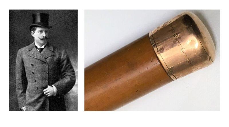 Sir Cosmo Duff-Gordon's walking cane