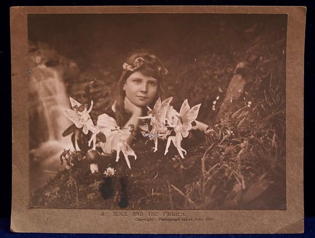 Photograph of The Cottingley Fairies