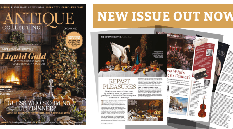 Antique Collecting magazine December 2019 issue