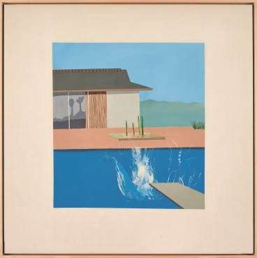David Hockney, The Splash, 1966