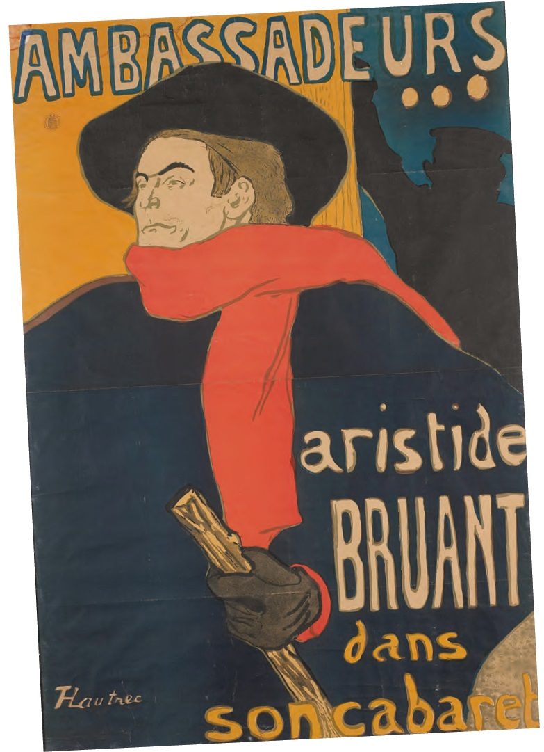 Poster by Toulouse-Lautrec