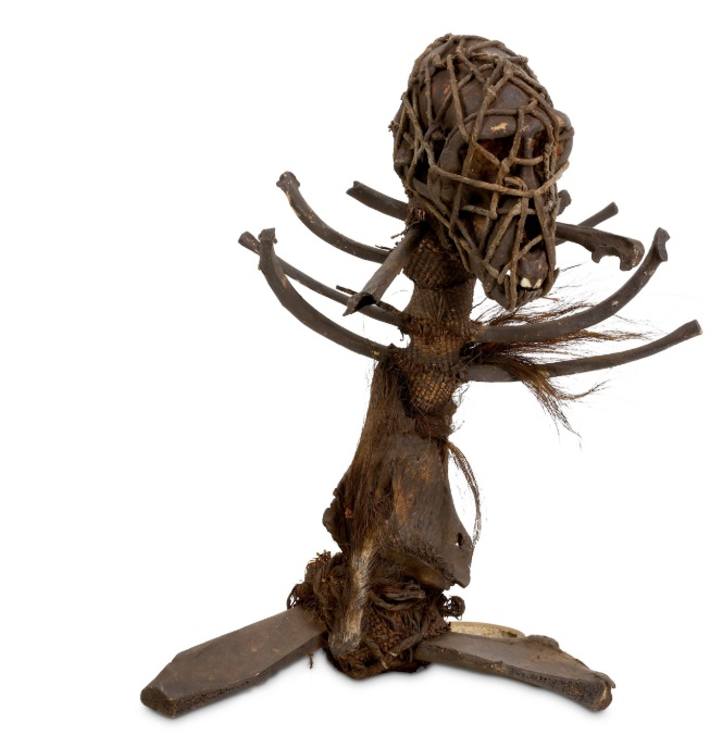 A 19th-century African witch doctor's fetish
