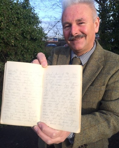 The First World War diary for sale at Hansons Auctioneers