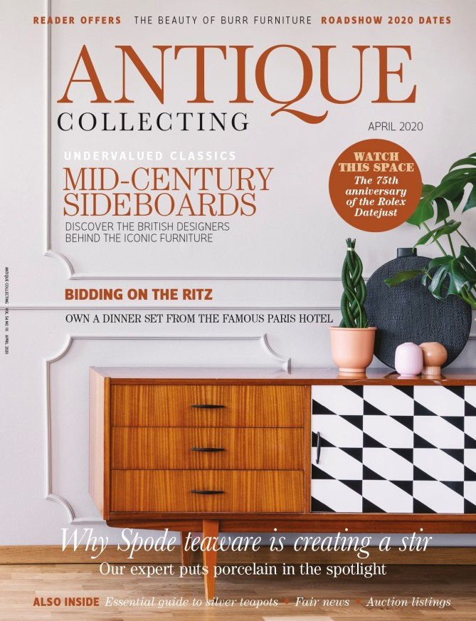 April 2020 issue of Antique Collecting magazine