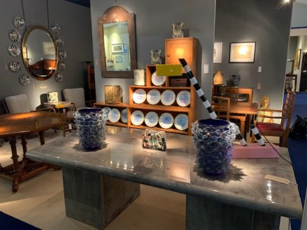 Holly Johnson Antiques at the Open Art Fair