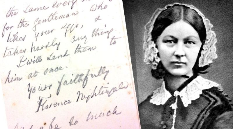 Florence Nightingale letter