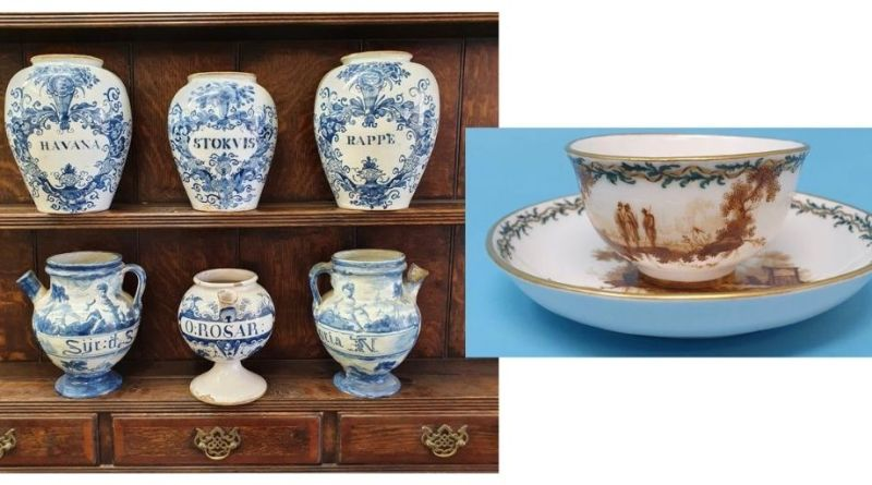 18th and 19th century ceramics