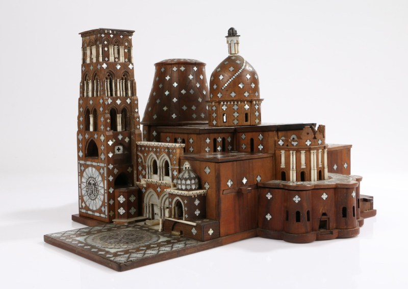 Model of the Church of the Holy Sepulchre in Jerusalem