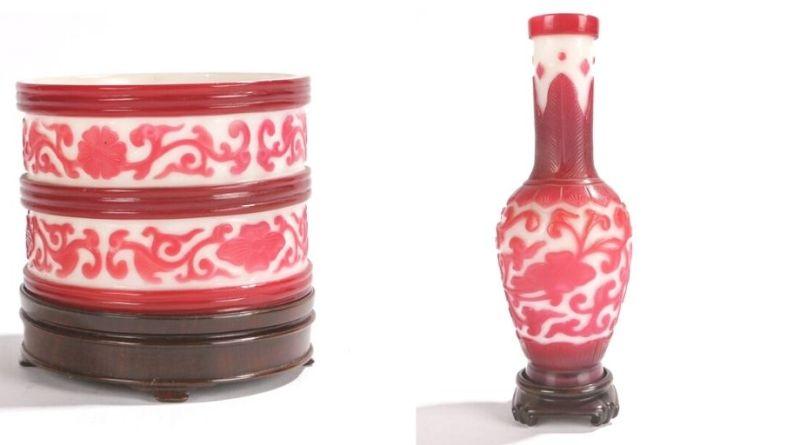 Asian art items in Bishop & Miller sale
