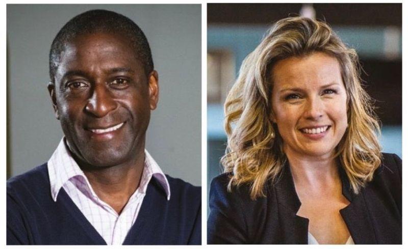 Lennox Cato and Christina Trevanion