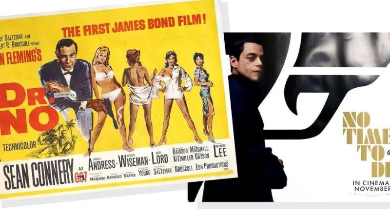 James Bond film posters in Ewbank's sale