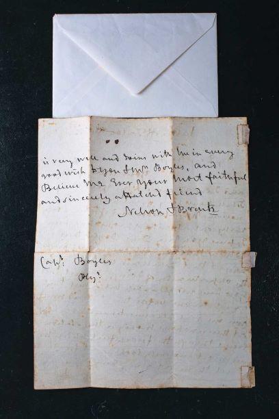 Horatio Nelson letter