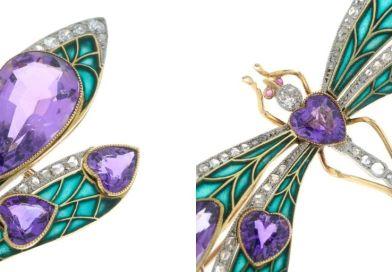 Suffragette dragonfly brooch soars in sale