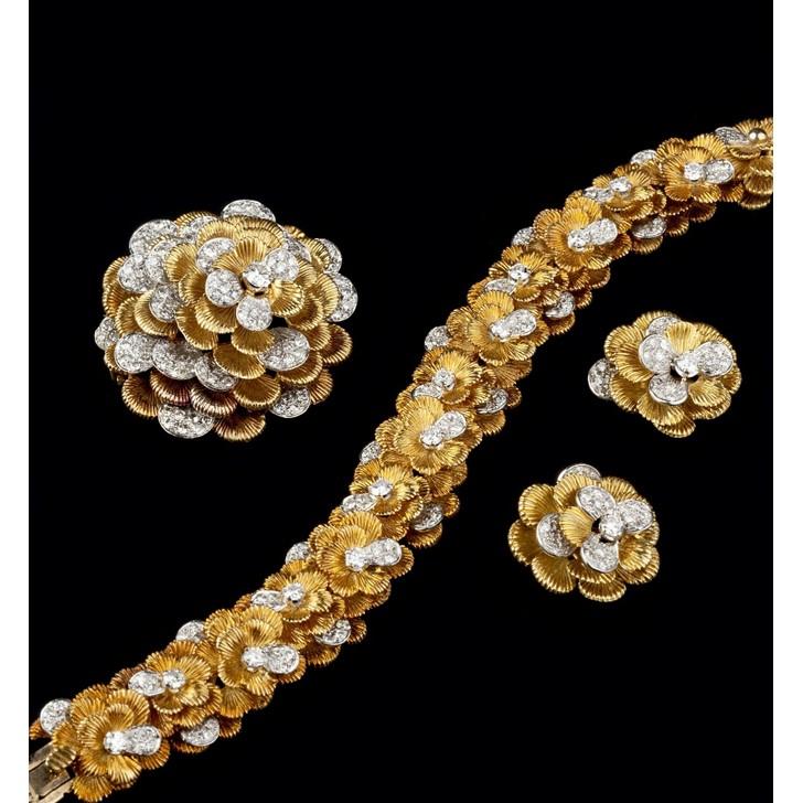 Kutchinsky suite of jewellery