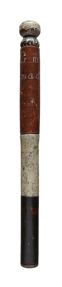 An antique truncheon