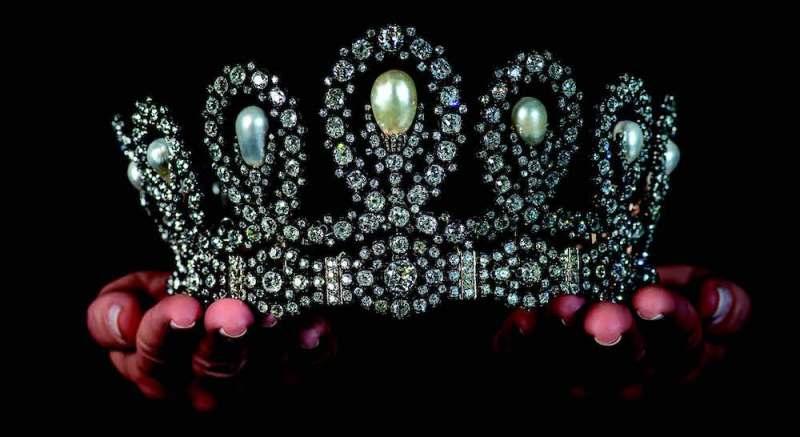 Antique tiara