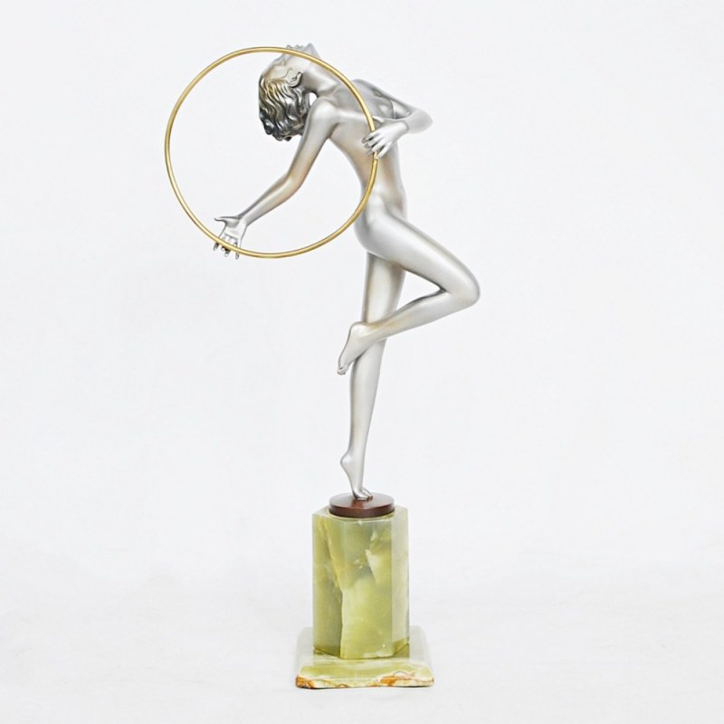 HR JEROEN MARKIES ART DECO Josef Lorenzl 'Hoop Dancer'