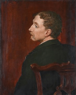 Portrait of Samuel Pepys Cockerell by George Frederic Watts