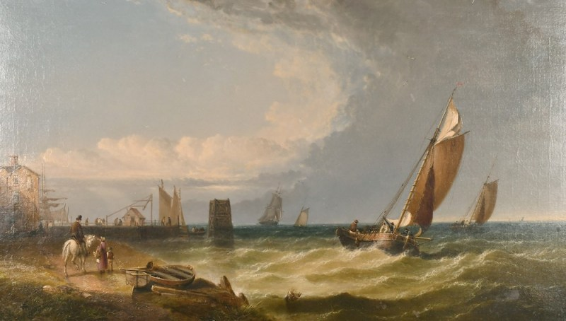 Arthur Joseph Meadows' 'Breezy Day'
