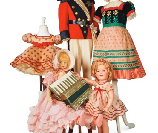 Items from Shirley Temple collection