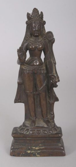 An antique bronze statue sells for £155,000