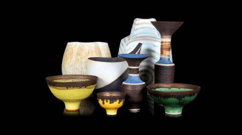 British studio pottery in sale