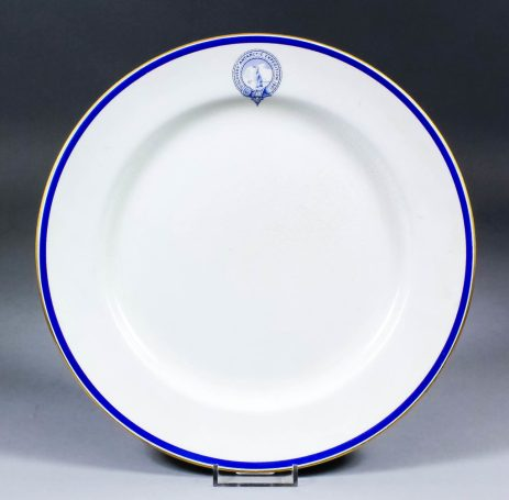 Captain Scott dinner plate