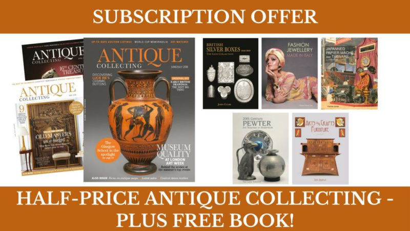 Antique Collecting summer subscription offer