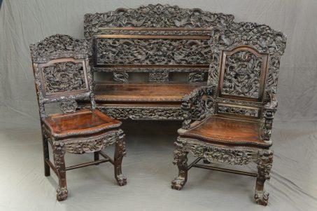 Antique Chinese furniture suite
