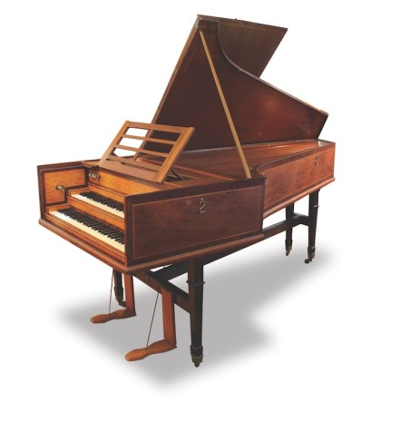 Canterbury Double Manual harpsicord
