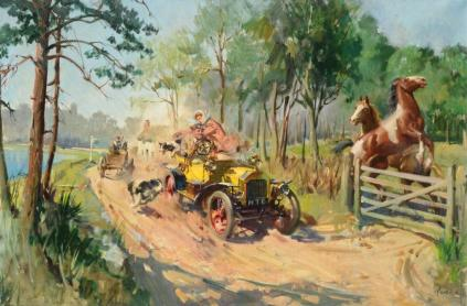 Terence Tenison Cuneo - The Inconsiderate Driver