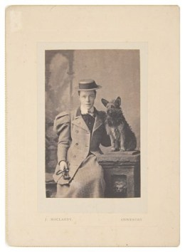 Photograph of Suffragette Kate Evans