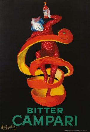 A vintage Campari poster
