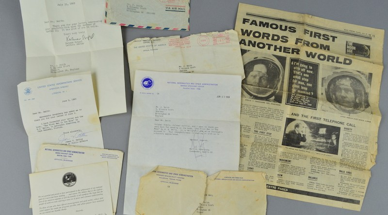 Letters from Apollo II astronauts