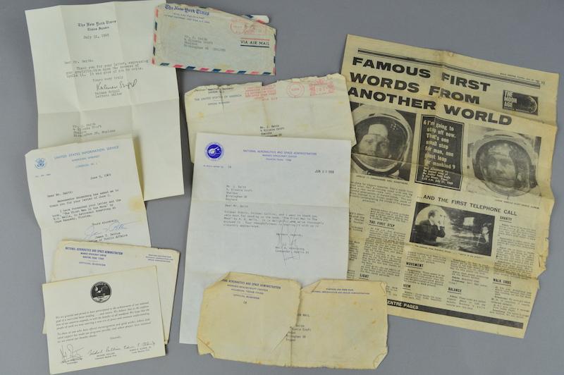 Letters from Apollo II astronauts
