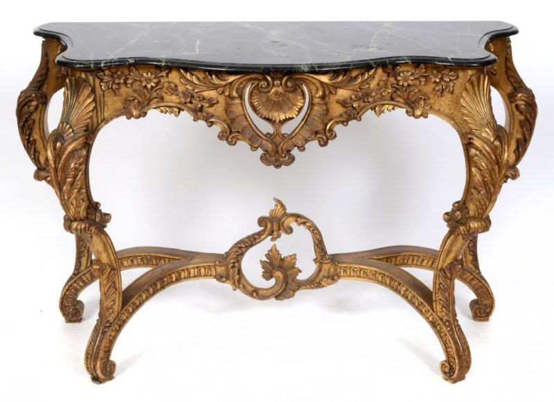Martin Miller antique console table