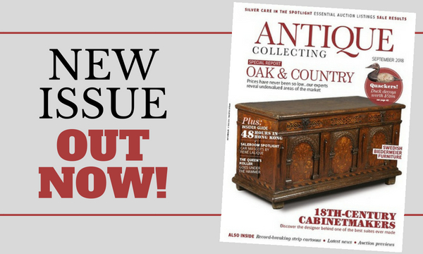 New issue of Antique Collecting out now