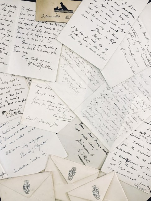 The collection of Pre Raphaelite letters